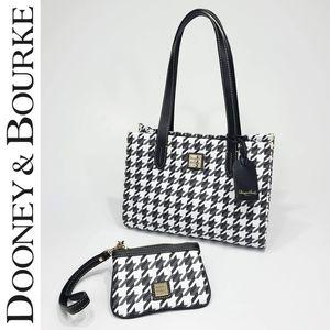 Dooney & Bourke Small Shopper Medium Wristlet Set